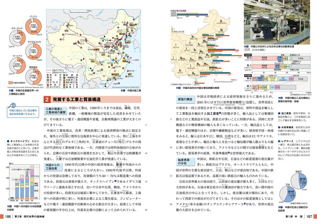 中国—発展する大国に着目する